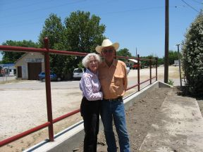 Kenneth & Patsy with Fence