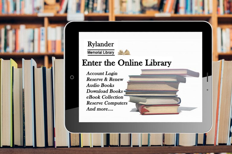 Welcome to Rylander Memorial Library Online — Rylander